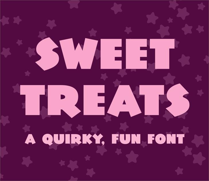 Sweet Treats Demo Font poster