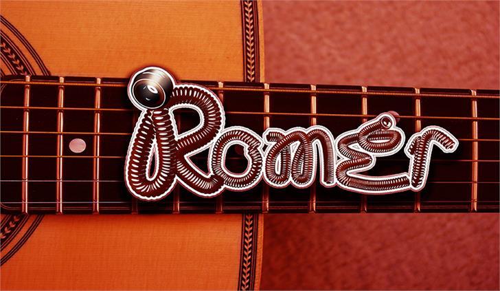 RomEr V 0.2 Font poster