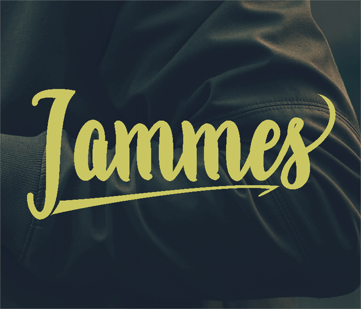 Jammes  font by JoeCreative