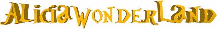 AliciaWonderland font by FZ Fonts