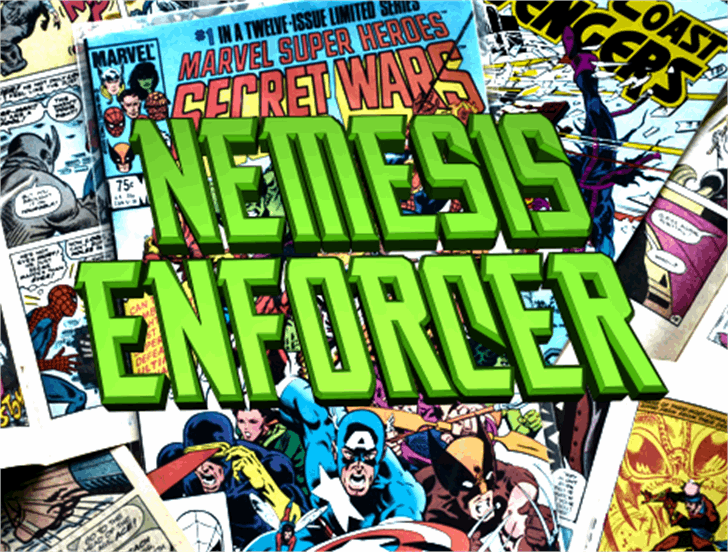 Nemesis Enforcer font by Iconian Fonts