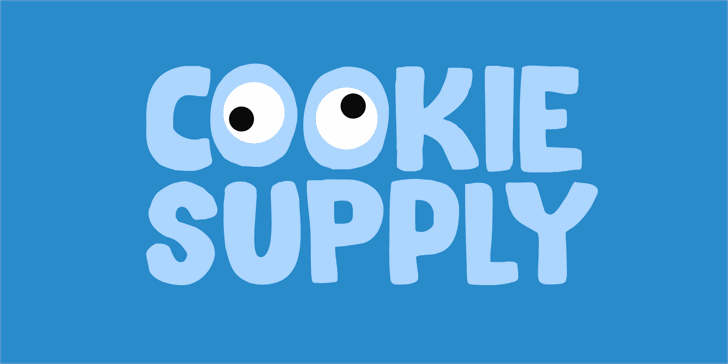 Cookie Supply DEMO Font design screenshot
