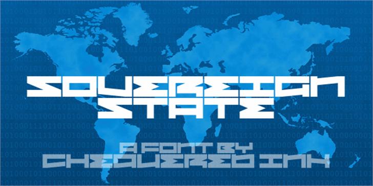 Sovereign State Font flag screenshot