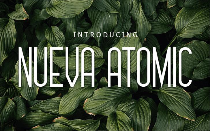 Nueva Atomio Font book plant