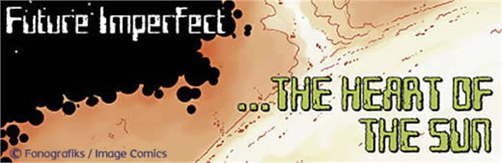 Future Imperfect Font poster screenshot
