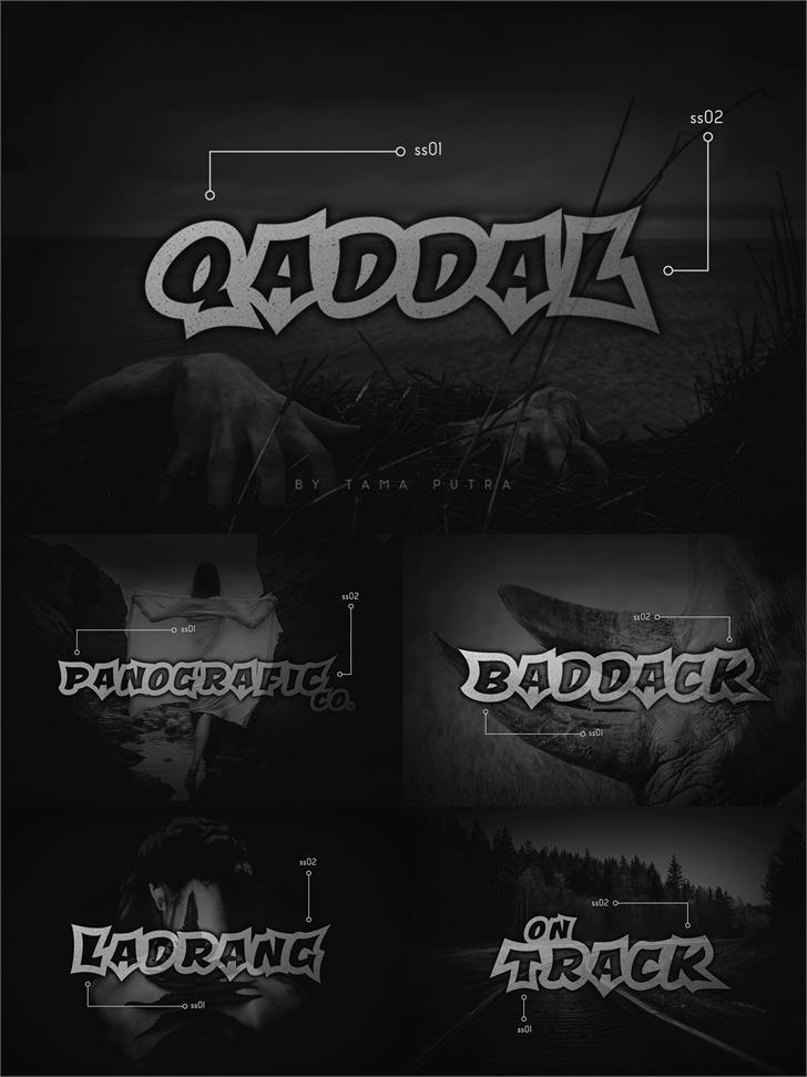 Qaddal Personal Use Font poster screenshot