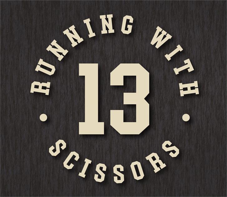 Rumblesport Athletic Font symbol font