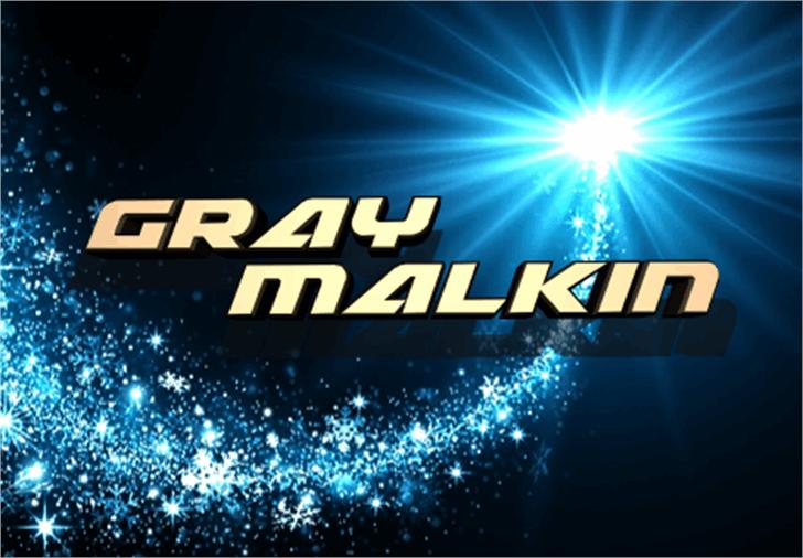 Graymalkin Font screenshot light