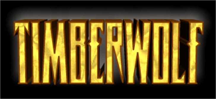 Timberwolf Font poster screenshot