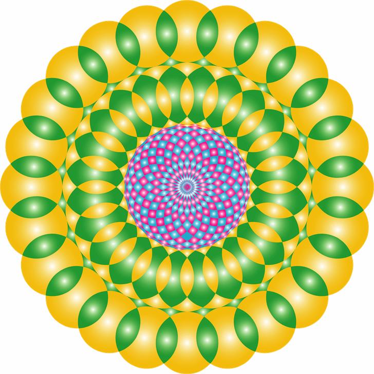 Mandalas pro Font screenshot circle