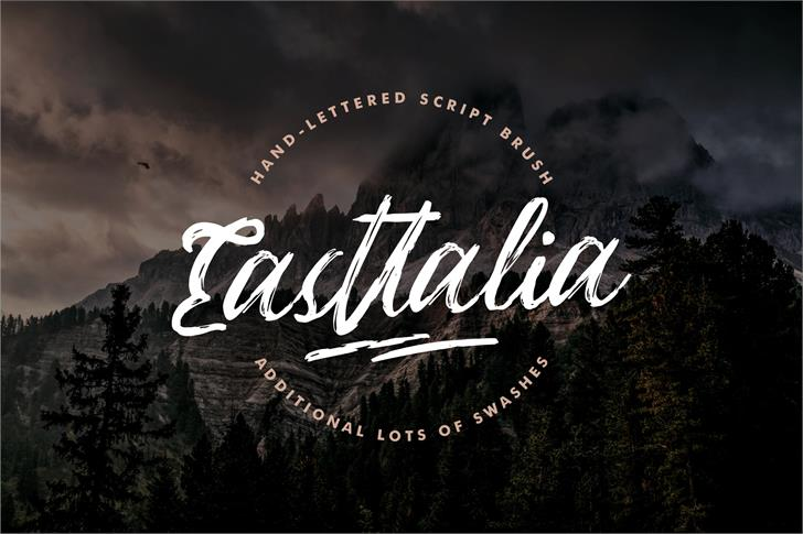 Easttalia Font typography text