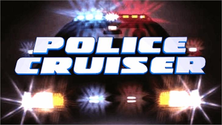 Police Cruiser Font screenshot dark