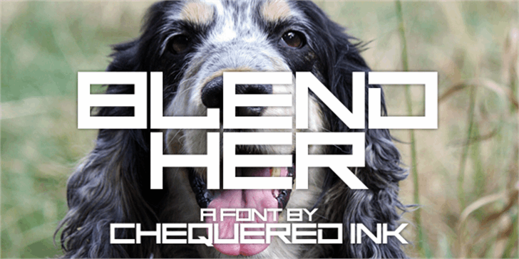 Blend Her font by Chequered Ink