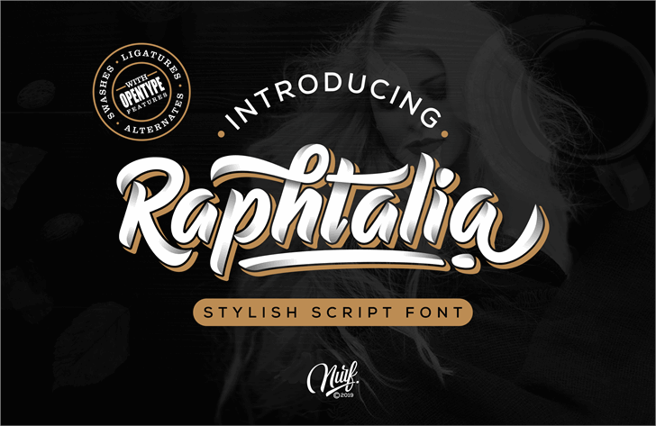 Raphtalia (Personal Use Only) font by Nurf Designs
