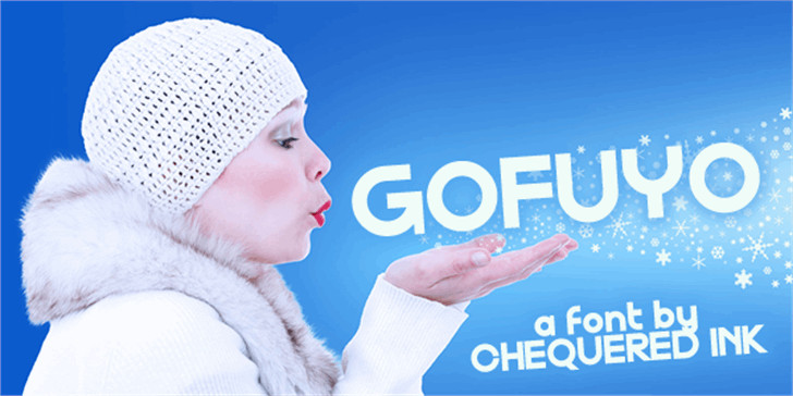 Gofuyo font by Chequered Ink
