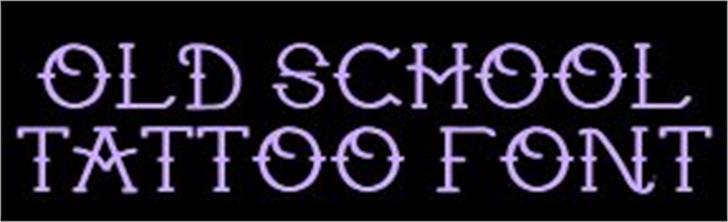 tattoo Font screenshot text