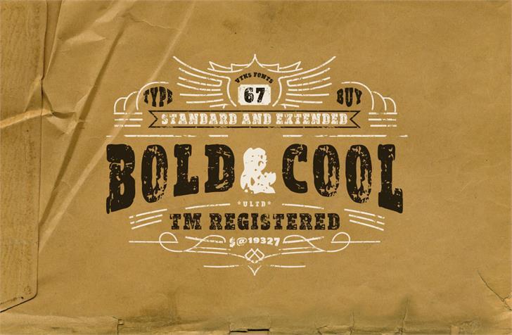 vtks Bold&Cool font by VTKS DESIGN