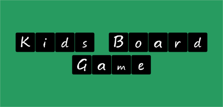 Kids board game Font screenshot internet