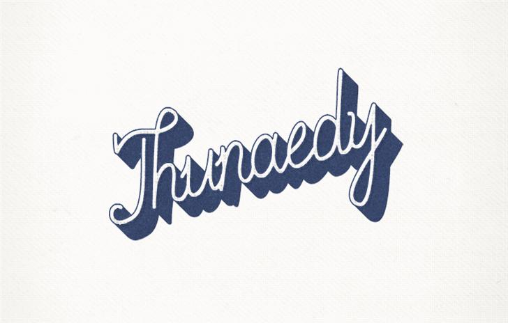 Thunaedy Font