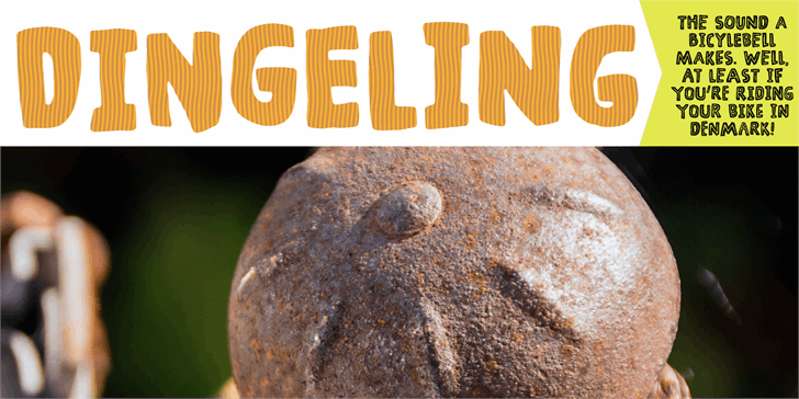 Dingeling DEMO Font sign