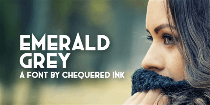 Emerald Grey font by Chequered Ink