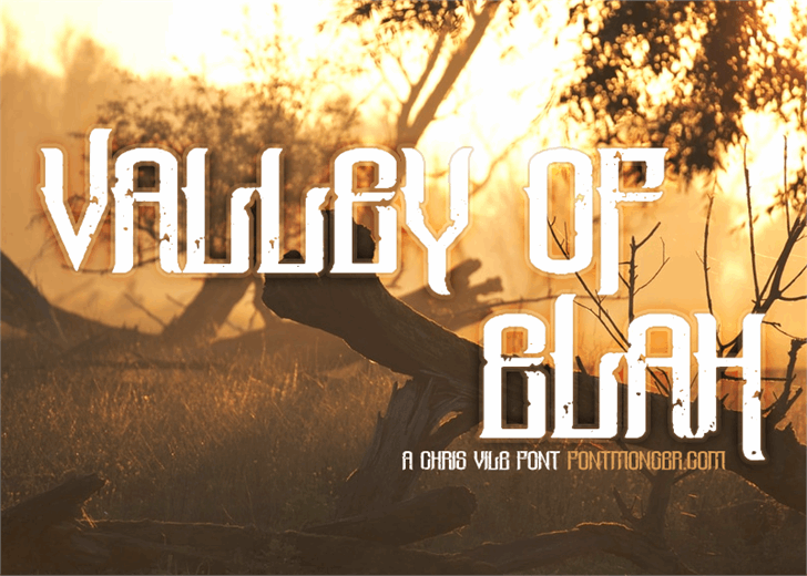 Valley Of Elah Font screenshot poster