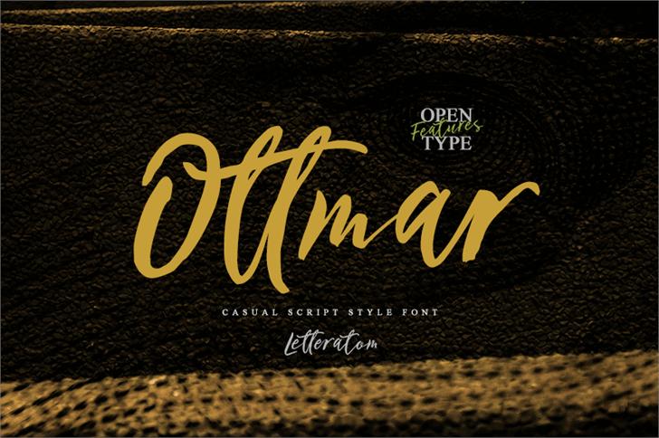 Ottmar Font poster
