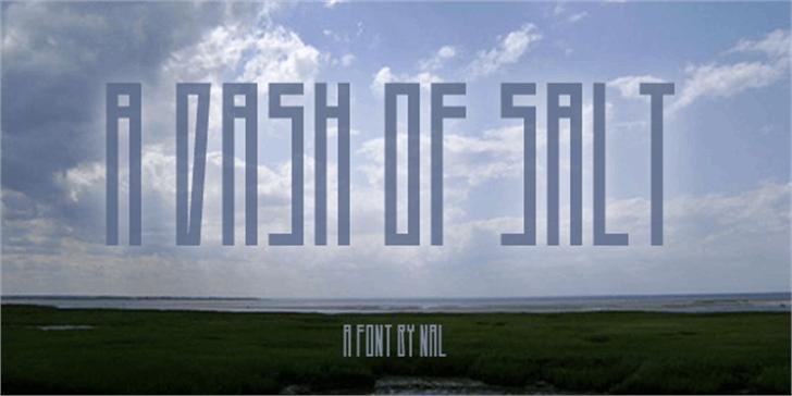 A Dash of Salt Font grass sky