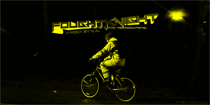 FoughtKnight Font bike outdoor