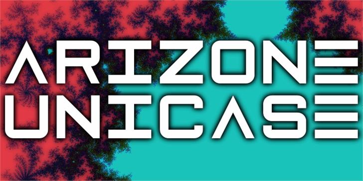 Arizone Unicase Font tree screenshot