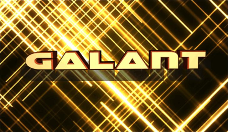 Galant Font screenshot light