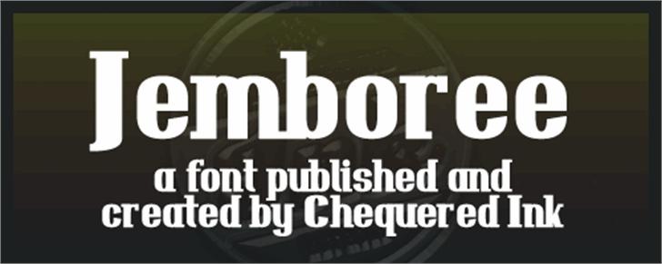 Jemboree Font screenshot poster