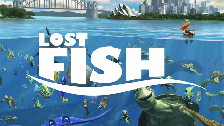 Lost Fish font by FontStudio LAB