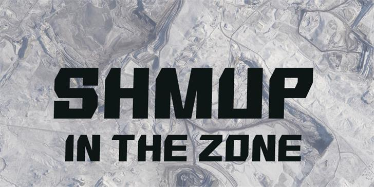 SHMUP in the zone font by Gomarice Font