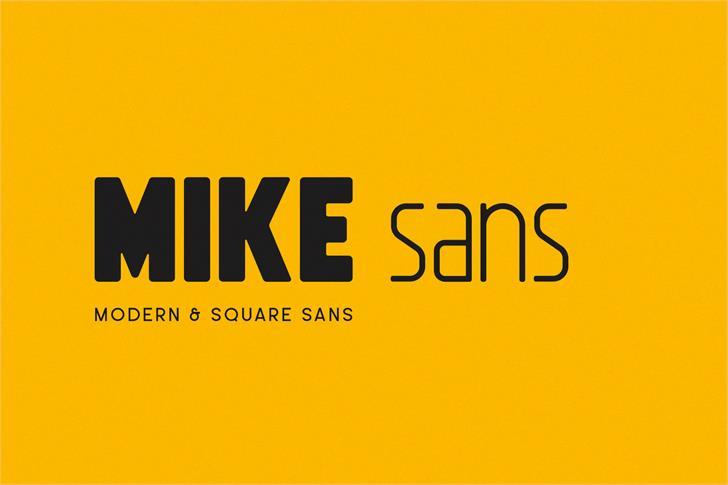 Mike Sans Free Font