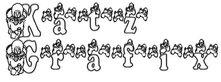 KG LAMBIE PIE font by Katz Fontz