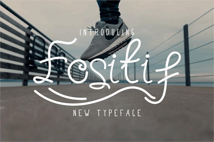fositif Font design