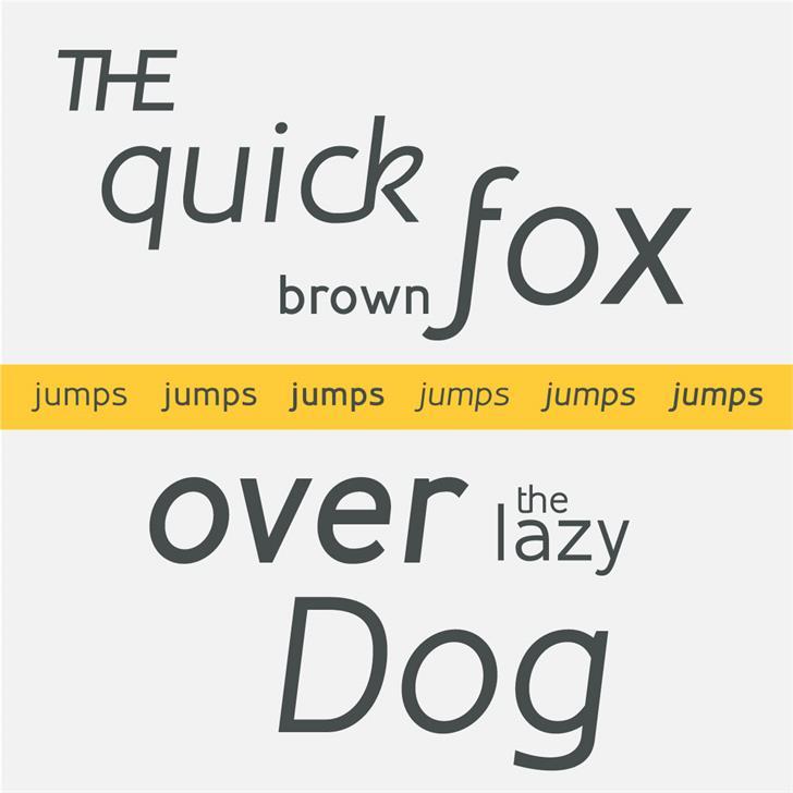 Inprimis Free Font screenshot text