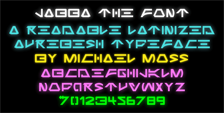 Jabba the Font by Mechanismatic