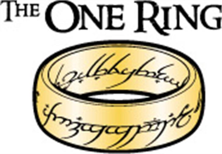 The One Ring font by Gaut Fonts
