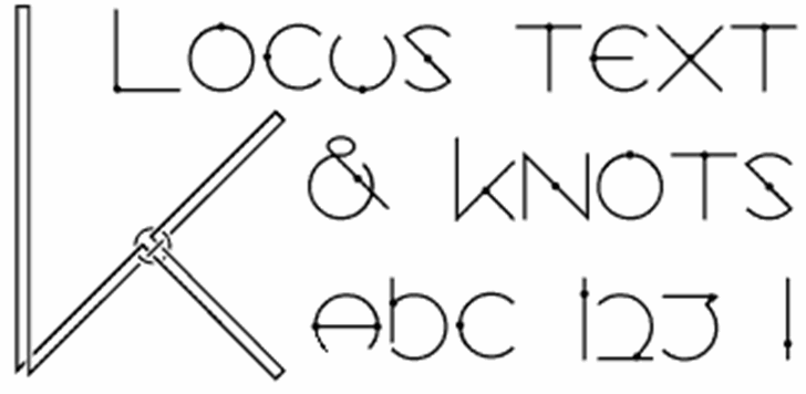Locus font by Glyphobet Font Foundry