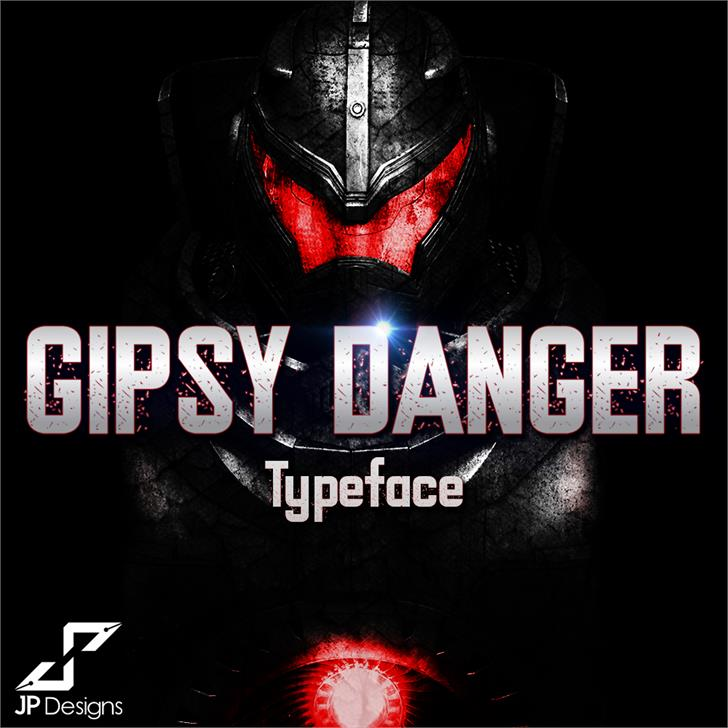 Gipsy Danger Personal Use Font poster screenshot
