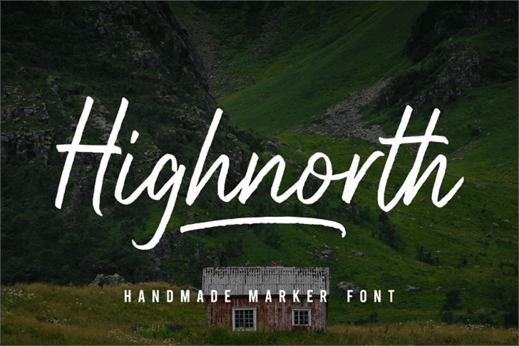 Highnorth Font poster
