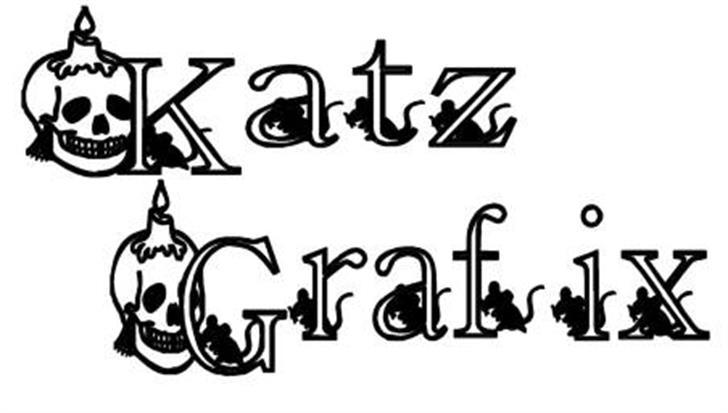 KG SKELETON font by Katz Fontz