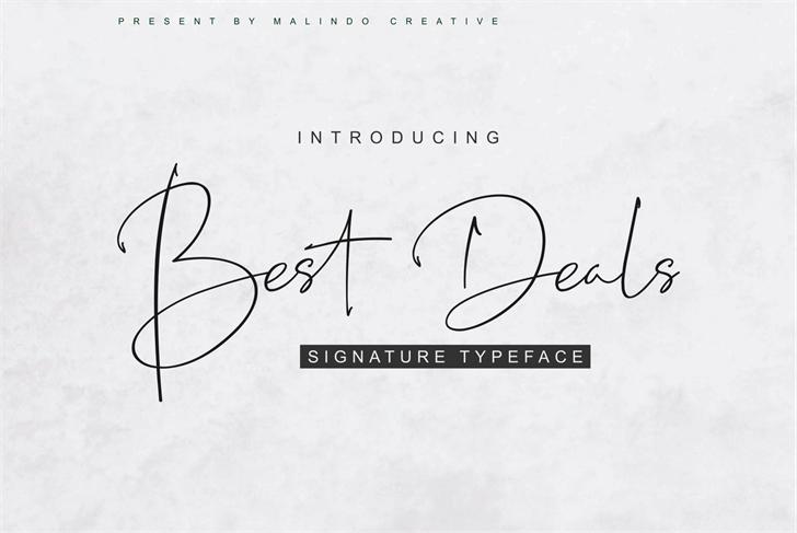 Best Deals Font handwriting drawing