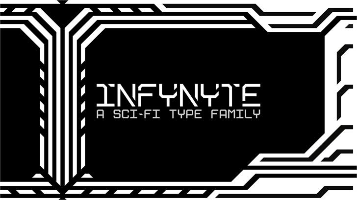 Infynyte Body font by JP Designs