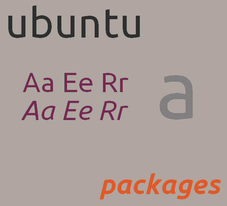 Ubuntu Font screenshot font