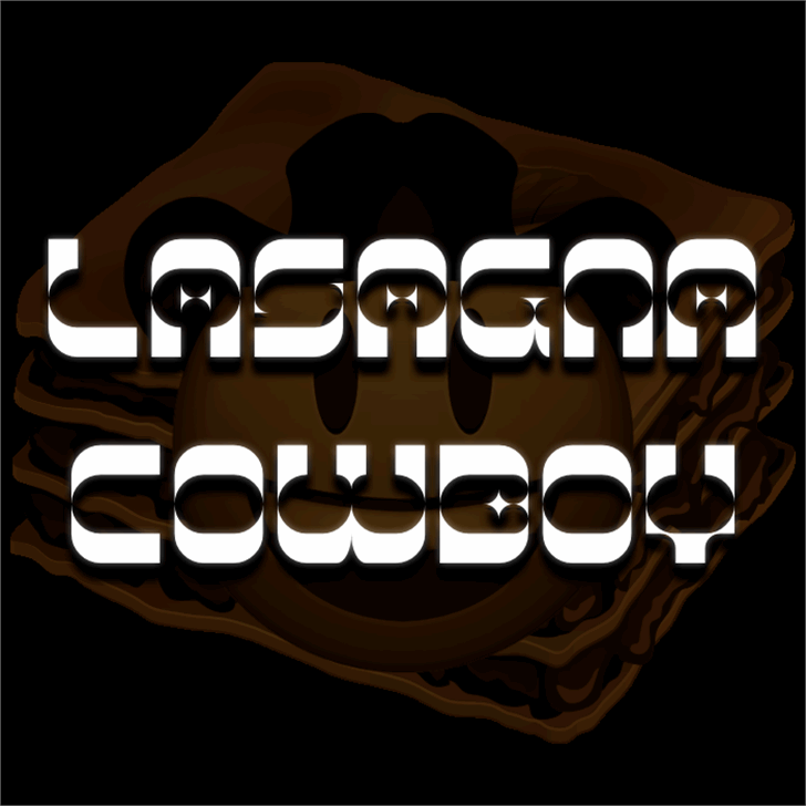 Lasagna Cowboy font by Pixel Kitchen