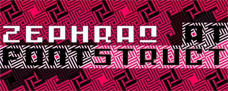 Vortexian Font poster