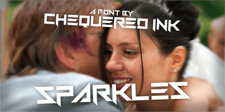 Sparkles Font person screenshot